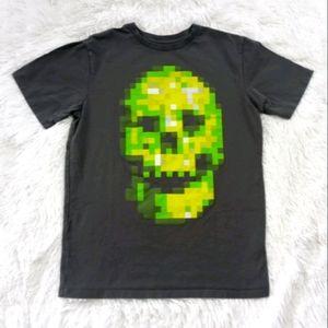 Place Pixel Skull T-Shirt WP1